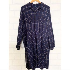 French Connection Dresses - French Connection | Navy Plaid Dress